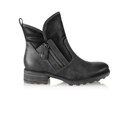 Tamaris  Urban Chunky Imit Boot - Black