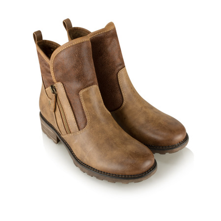 Tamaris  Urban Chunky Imit Boot - Brown