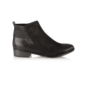 Marco Tozzi Antic Leather Ankle Boot