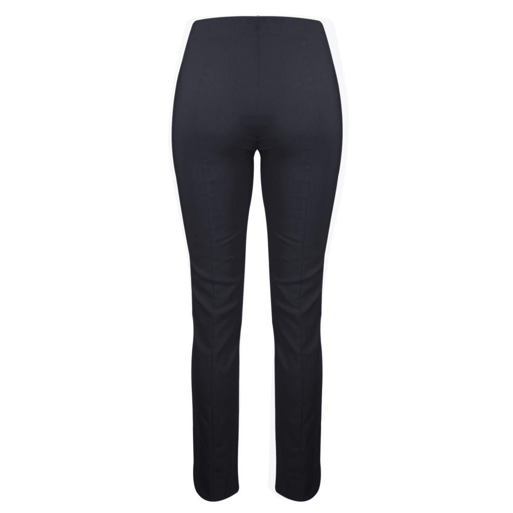 Robell Rose Navy Slim Leg Full Length Trouser Navy