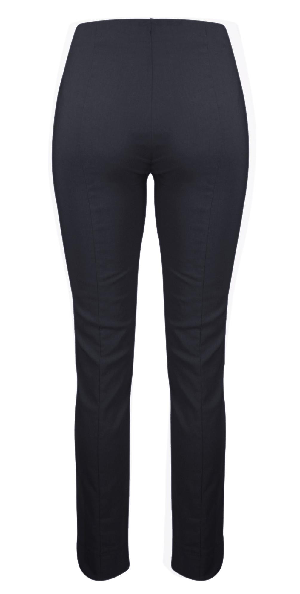 Rose Navy Slim Leg Full Length Trouser main image