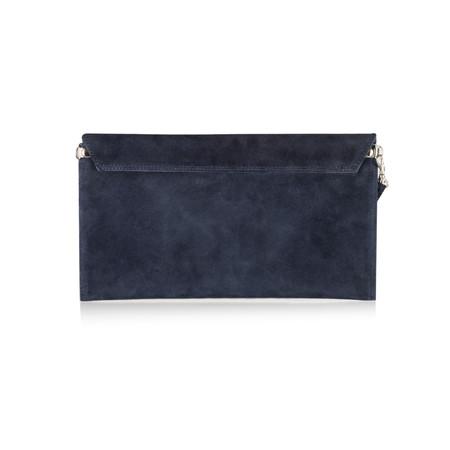 Pure White Paluzza Handbag - Blue
