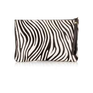 Pure White Paola Animali Clutch