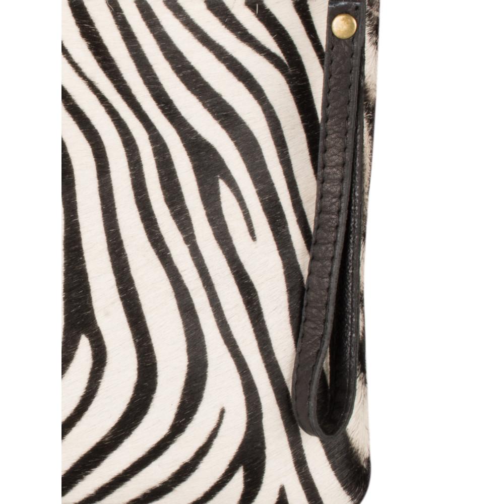 Gemini Label Bags Paola Animali Clutch Zebra