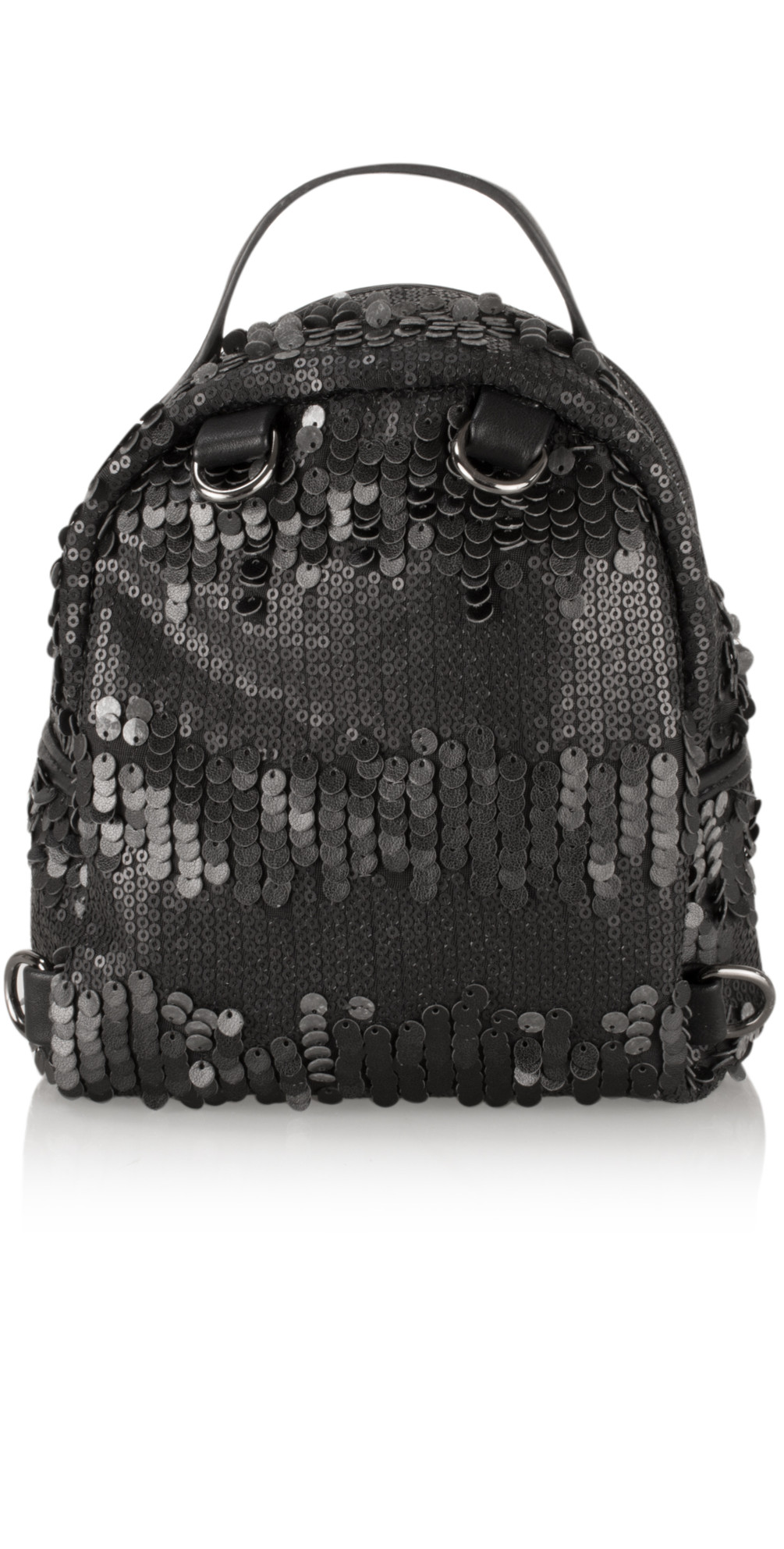 Cara Matt Sequin Mini Backpack main image