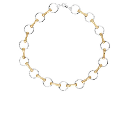 Dansk Smykkekunst Rosita Short Necklace - Metallic