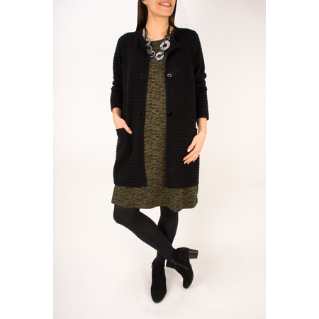 Two Danes Megan Cardigan - Black