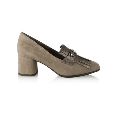 Tamaris  Camerino Block Heel Loafer - Red