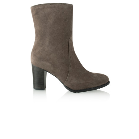 Tamaris  Suede Ankle Boot - Grey