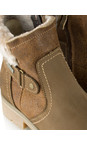 Tamaris  Mocca Leather Sympatex Water Resistant Ankle Boot