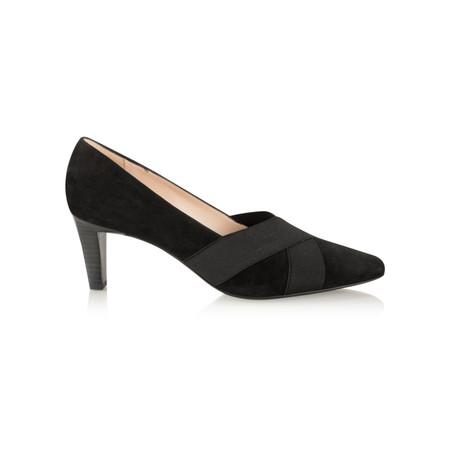 Peter Kaiser Malana Notte Suede Shoe - Black