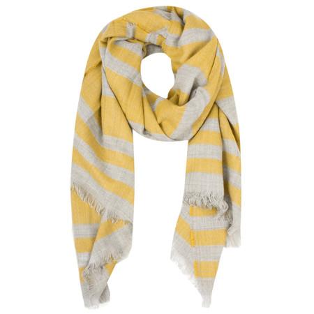 Lua  Spring Stripe Scarf - Yellow