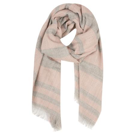 Lua  Spring Stripe Scarf - Pink