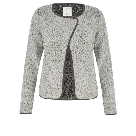 Sandwich Clothing Boucle Knit Jacket - Grey