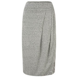 Sandwich Clothing Draped Slub Jersey Skirt