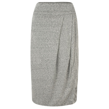 Sandwich Clothing Draped Slub Jersey Skirt - Grey