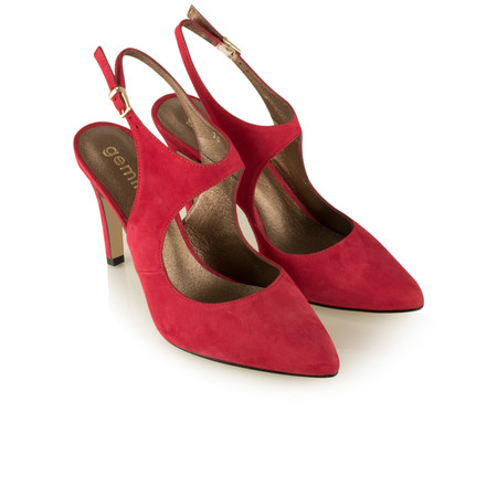 Gemini by GDF Mesalla Suede Shoe - Red
