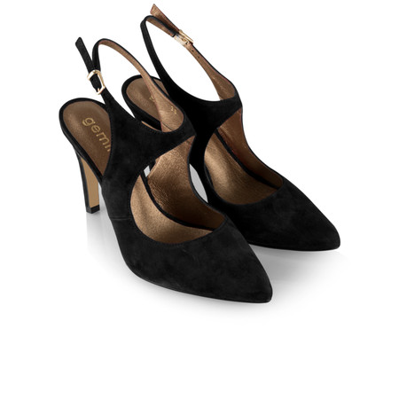 Gemini by GDF Mesalla Suede Shoe - Black