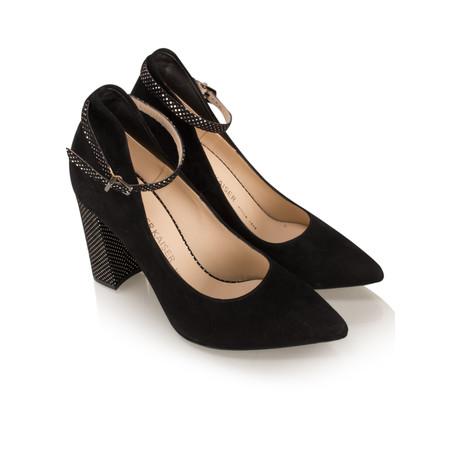 Peter Kaiser Atina Ankle Strap Shoe - Black