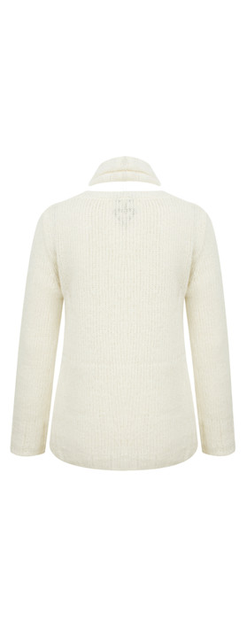 Marc Aurel Luxe Day Knit Jumper Off-White