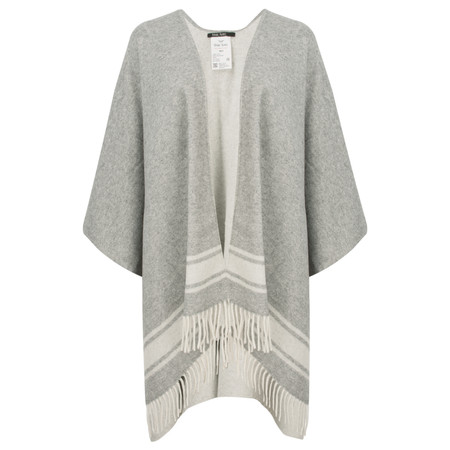 Marc Aurel Luxe Day Super Soft Poncho - Blue