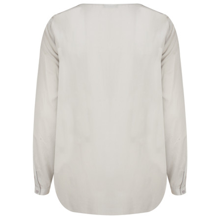 Marc Aurel Luxe Silk Jersey Top - Grey