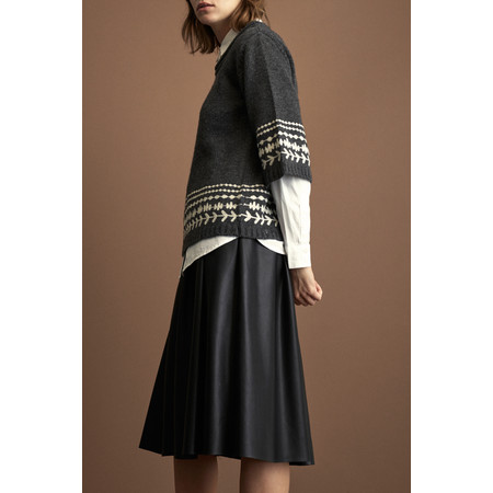 Great Plains Seattle Zip Skirt - Black