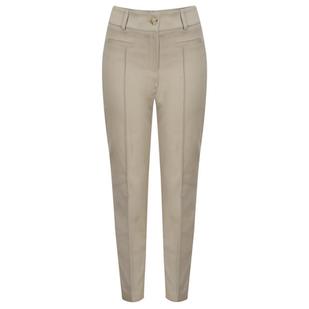 Marc Aurel Luxe Day Fitted Trouser - Brown