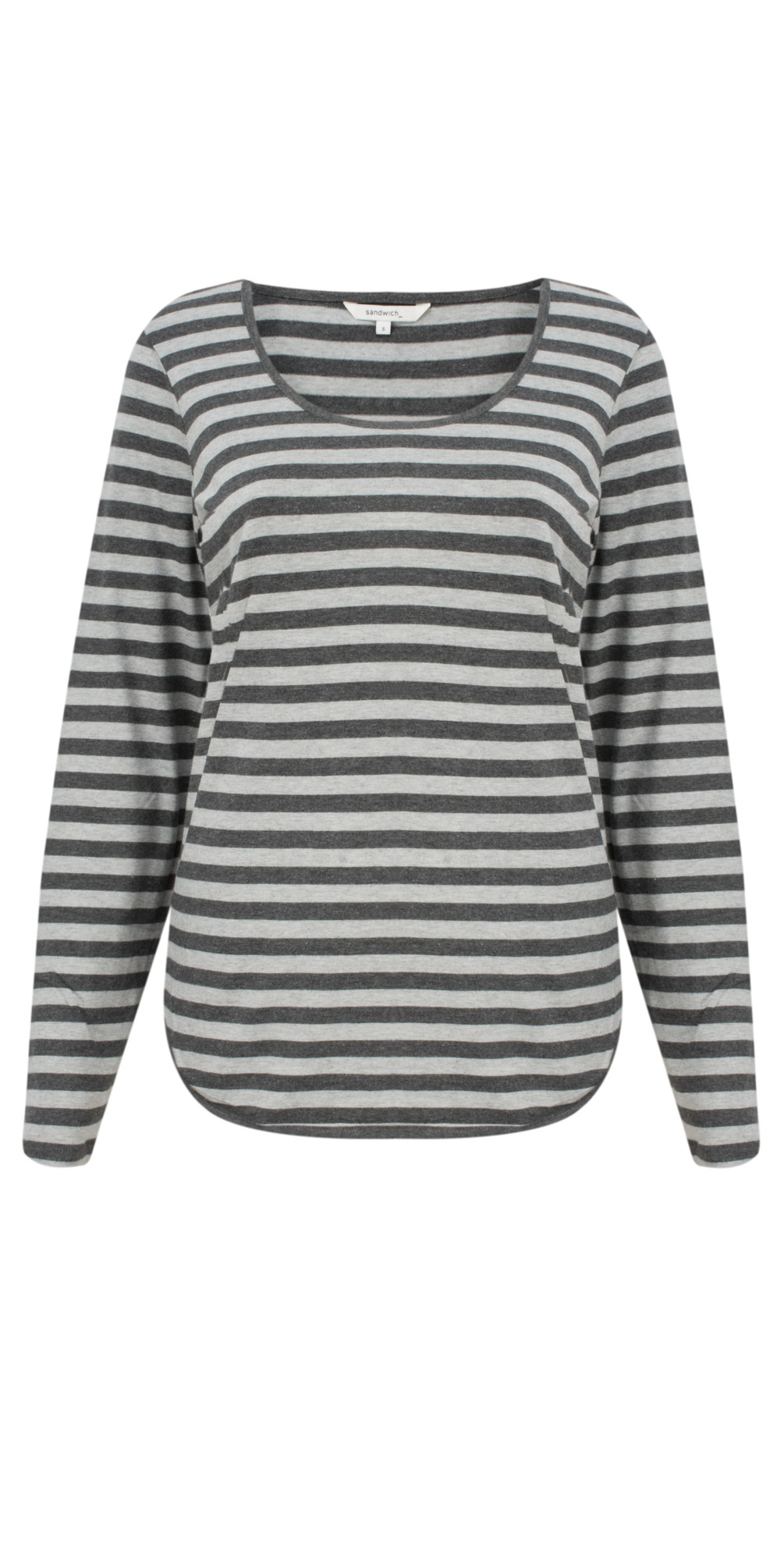 Striped Jersey Top main image