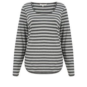Sandwich Clothing Striped Jersey Top