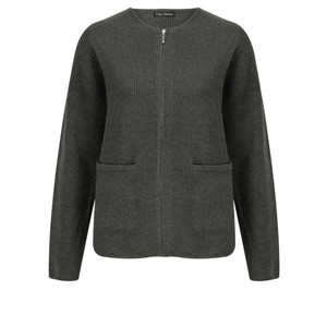 Two Danes Barbara Zip Front Cardigan