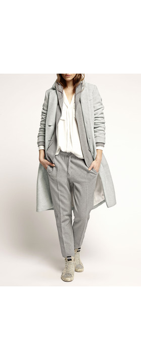 Marc Aurel Luxe Day Jersey Trouser Light Grey Mel