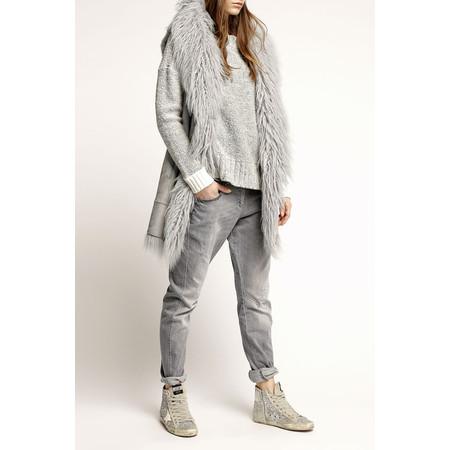 Marc Aurel Luxe Day Mongolian Wool Waistcoat - Grey