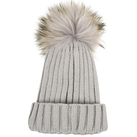 Bitz of Glitz Anna Beanie Bobble - Grey