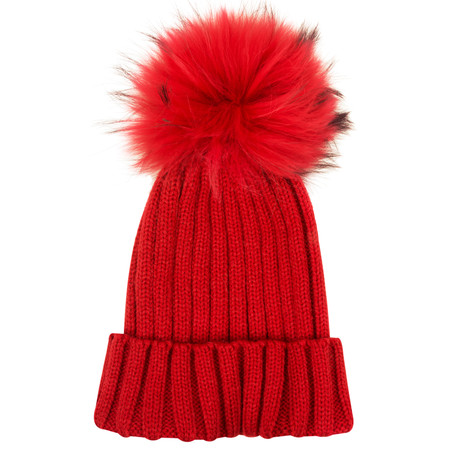 Bitz of Glitz Anna Beanie Bobble - Red