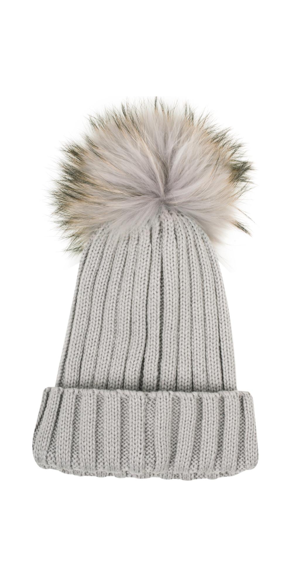 Anna Ribbed Beanie Hat main image