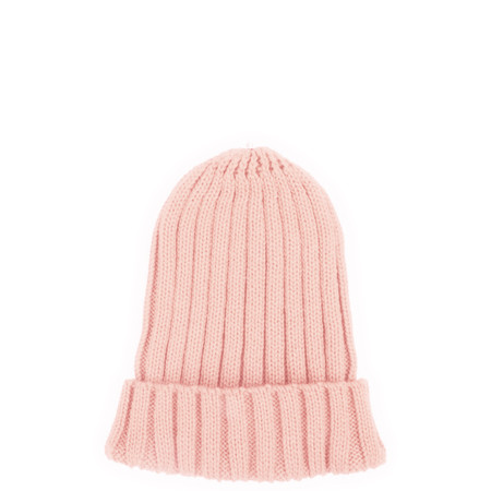 Bitz of Glitz Anna Ribbed Beanie Hat - Light Pink