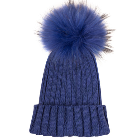 Bitz of Glitz Anna Beanie Bobble - Blue