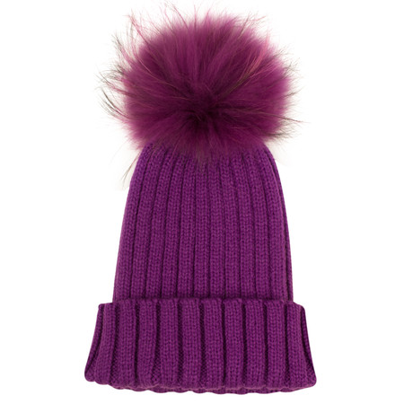 Bitz of Glitz Anna Beanie Bobble - Purple