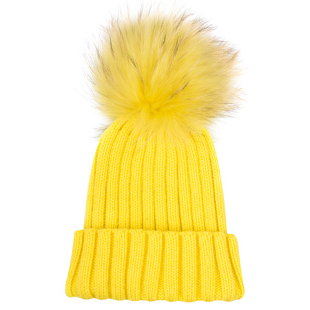 Bitz of Glitz Anna Beanie Bobble - Yellow