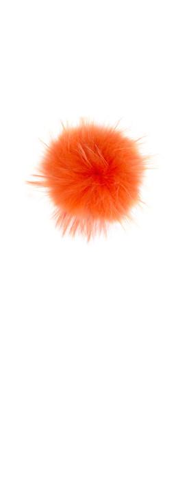 Bitz of Glitz Anna Beanie Bobble Orange