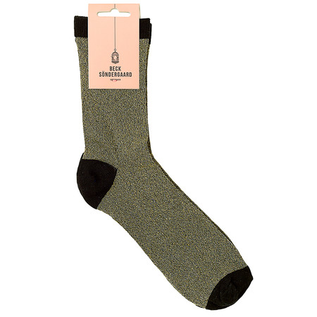 BeckSondergaard Dina Glitter Socks - Black