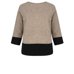 TOC  Jen Colour Block Jumper