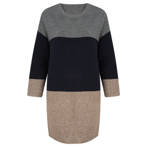 TOC  Dorte Colour Block Jumper Dress