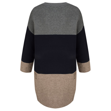 TOC  Dorte Colour Block Jumper Dress - Blue