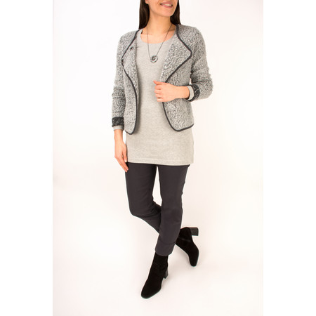 Sandwich Clothing Essentials Light Cotton Long Jersey Top - Grey