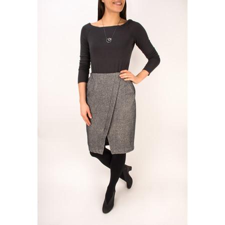 Sandwich Clothing Jacquard Fleece Skirt - Grey