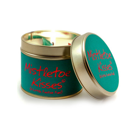 Lily-Flame Ltd. Mistletoe Kisses Tin - Transparent