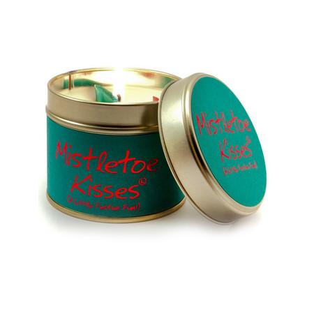 Lily-Flame Ltd. Mistletoe Kisses Tin - Transparent