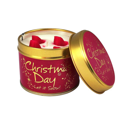 Lily-Flame Ltd. Christmas Day Tin - Transparent